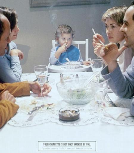 Criança e Cigarro