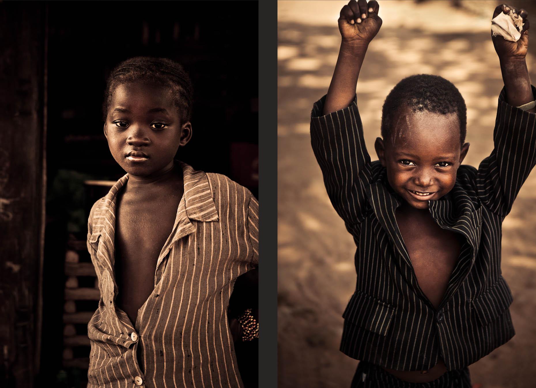 Anthony Kurtz Untitled (Children in Suits)