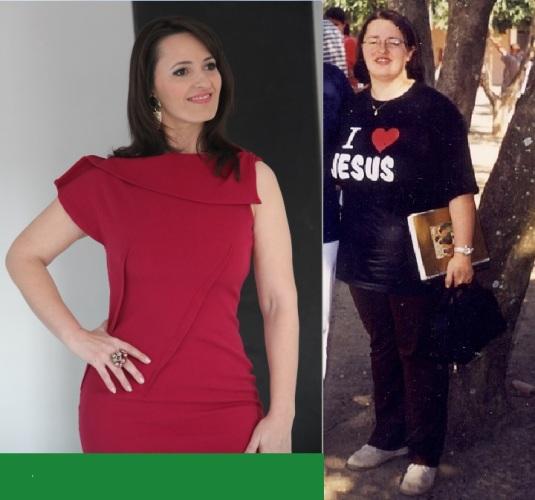 Márcia Ribas - Emagreci 40 quilos
